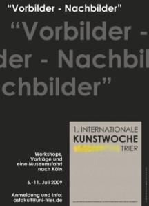 Vorbilder - Nachbilder - Ausstellung Jutta Limburg
